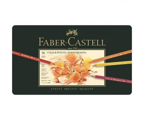 Värvipliiatsid Faber-Castell Polychromos - 36 värvi
