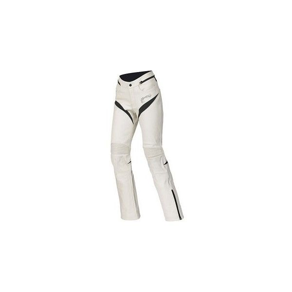 Alpinestars Women's Stella Tyla Leather Pants ($250) ❤ liked on Polyvore featuring pants, alpinestars, genuine leather pants, leather pants, alpinestars pants and leather trousers