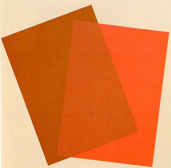 Josef Albers (1888-1976, German-born American) - Overlapping Elements + Shapes