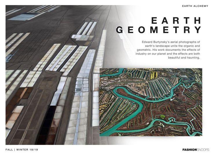 FW 18-19  // EARTH ALCHEMY - MOOD EARTH GEOMETRY