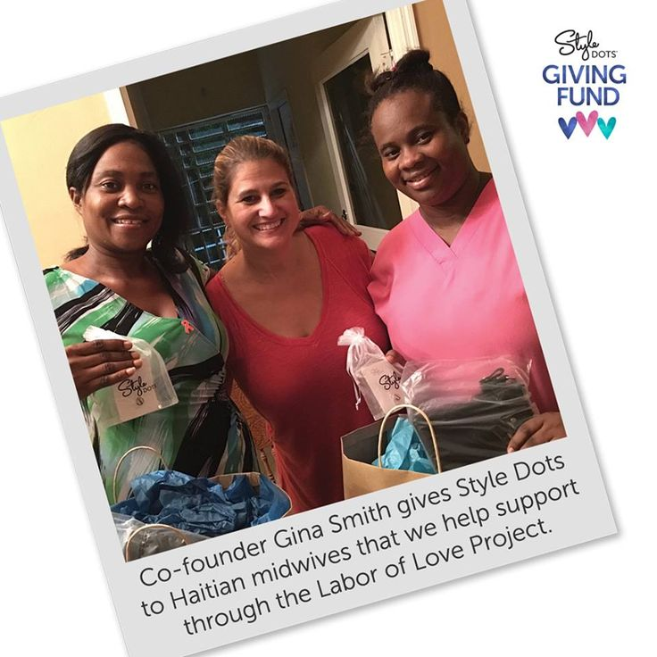 The profits from the sale of our Bling Baby Feet Dot helps moms & babies in Haiti with prenatal care & delivery!   Check out Labor of Love Project:  laborofloveproject.org  Help support our cause:  http://bit.ly/2pZQvX5  #giveback #laboroflove