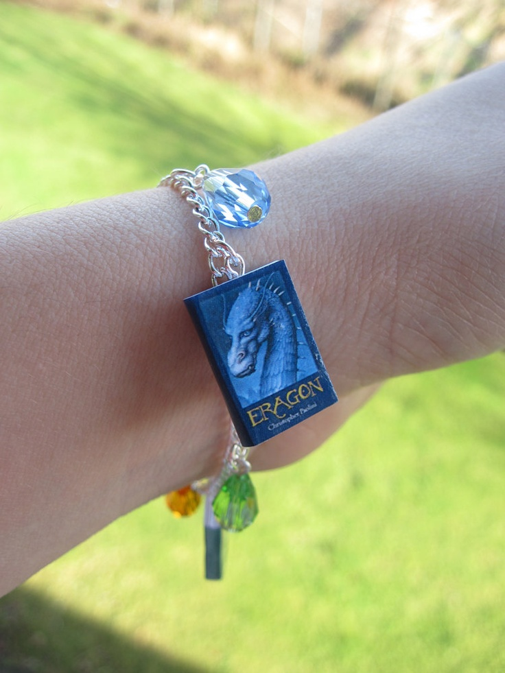 Inheritance Cycle Book Bracelet. $17.00, via Etsy.