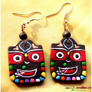 Terracotta Earrings - Terracotta Jewelry - Rs 199 - Hand Made Crafts - Buy & Sell Indian Handmade Crafts and Handmade Jewelry and Gifts
