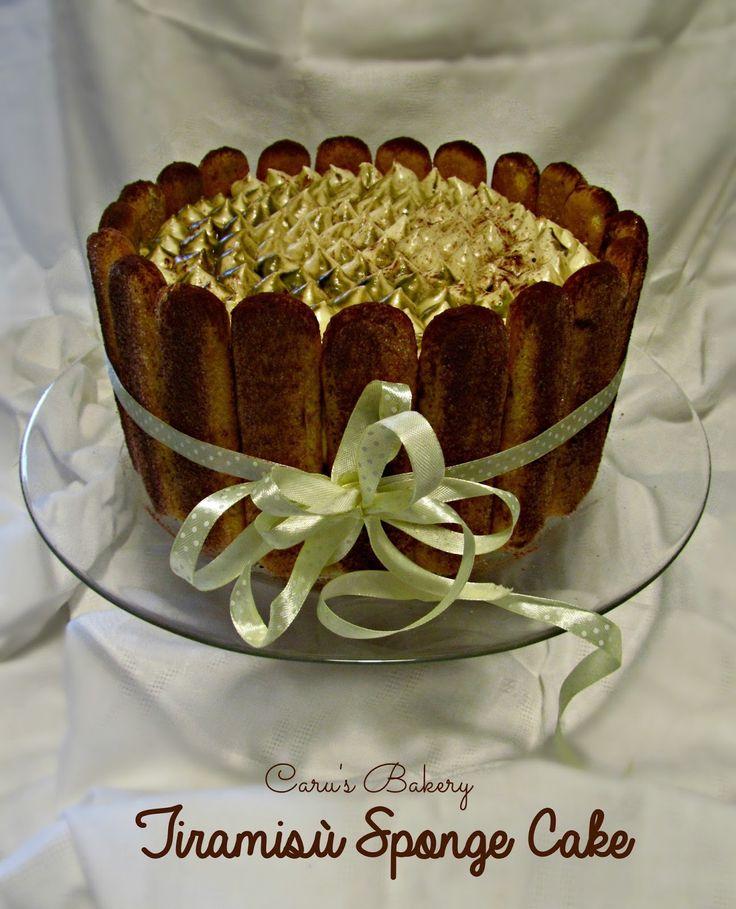 Caru's Bakery: Tiramisù Sponge Cake