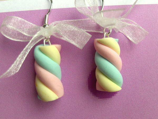 fimo handmade marshmallows