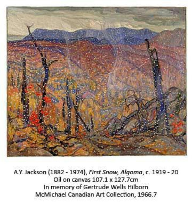 "A.Y. Jackson  - ""First Snow, Algoma"""
