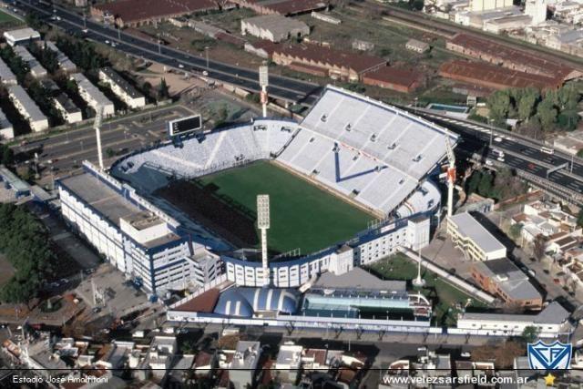 """Estadio José Amalfitani, """"El Fortín de Liniers"""" Club Atlético Vélez Sarsfield, Buenos Aires, Argentina."""