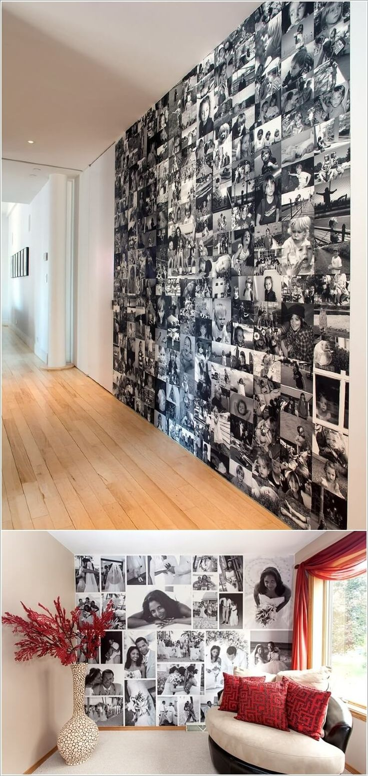 10 Cool Ways to Decorate Your Walls with Family Photos 5