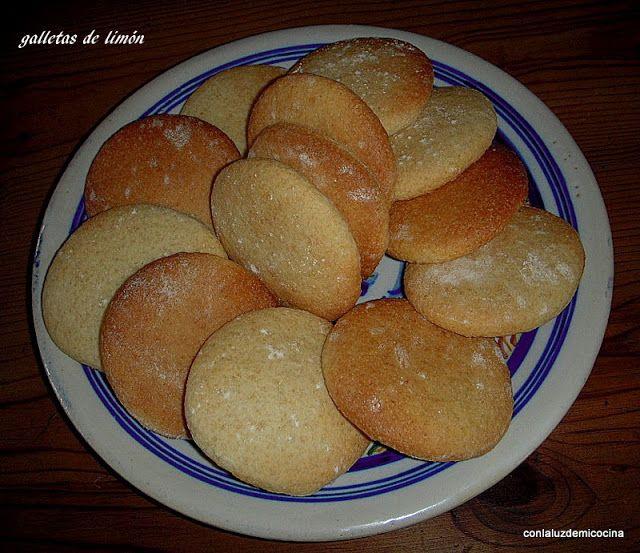 con la luz de mi cocina: FÁCIL:GALLETAS DE LIMÓN, sin huevo ni grasas, de…