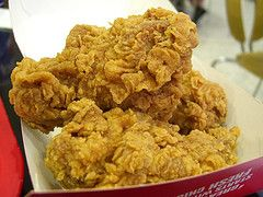 You can make your own version of KFC Original Recipe Fried Chicken using copycat recipe. See here: http://www.copycatrecipeguide.com/How_to_Make_KFC_Original_Recipe_Fried_Chicken