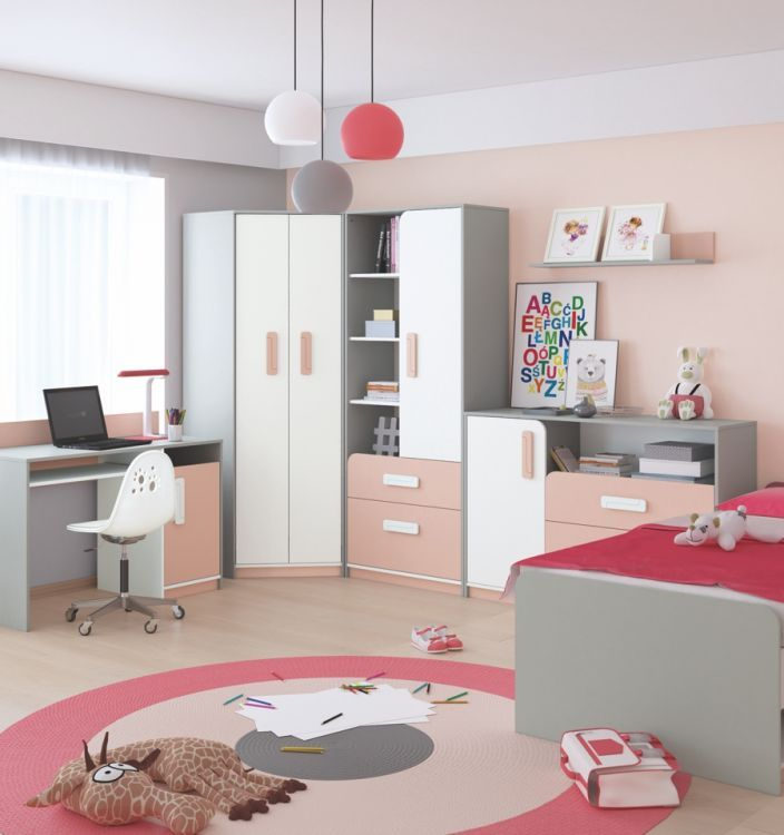 Komoda dla dzieci IQ 09 jest idealnym elementem wyposażenia dziecięcego pokoju. Polskiej produkcji mebel stworzony jest z laminowanej płyty wiórowej, której wysoką jakość potwierdzają certyfikaty jakościowe oraz ekologiczne.
