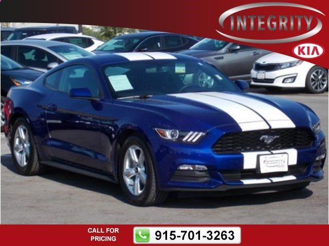 2015 Ford Mustang V6 10k miles $24,594 10654 miles 915-701-3263 Transmission: Manual #Ford #Mustang #used #cars #IntegrityKia #ElPaso #TX #tapcars