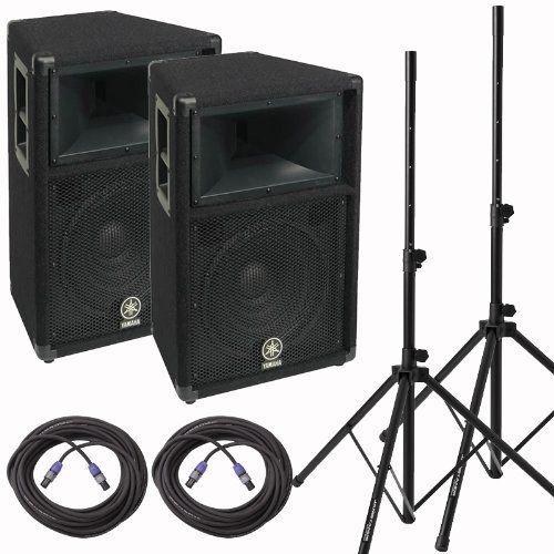 "Yamaha S115V-CA Two Way Passive PA Speaker 15"" With Stands and Cables by Yamaha. $799.95. ###############################################################################################################################################################################################################################################################"