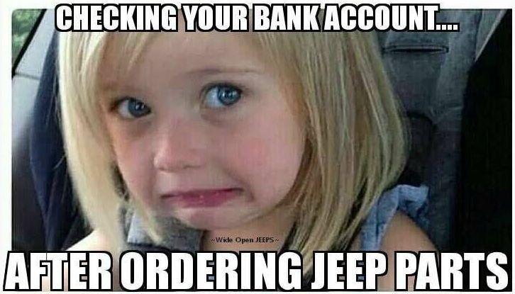 LOL jeep parts <3