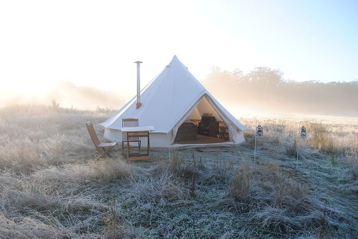 More winter camping...Cosy Tents Glamping, Daylesford