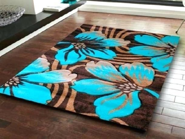 Rugs For A Brown And Turquoise Bedroom Luxurybathrugbrown