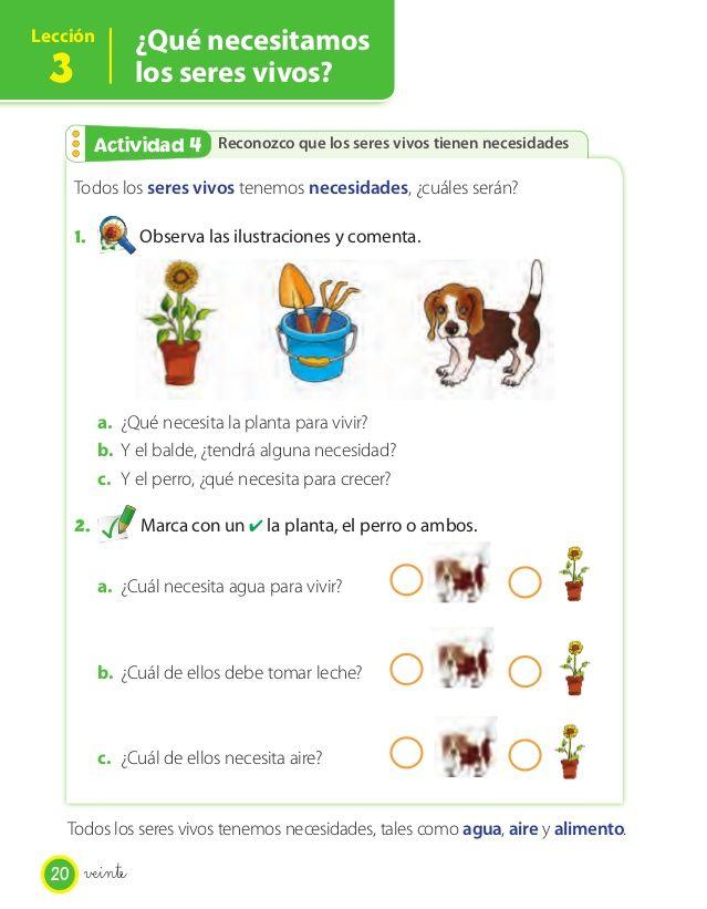 Texto Estudiante Ciencias Naturales 1 In 2021 Los Ojos Las Tablas Diez