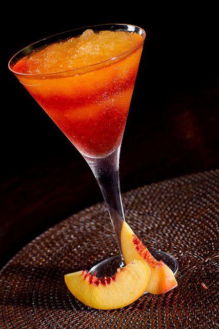 Bellini Swirl #MaggianosHappyHour: Happy Hour, Peaches Puree, Little Italy, Food, Peaches Bellinis, Bellinis Swirls, Drinks, Absolute Raspberries, Martinis Glasses