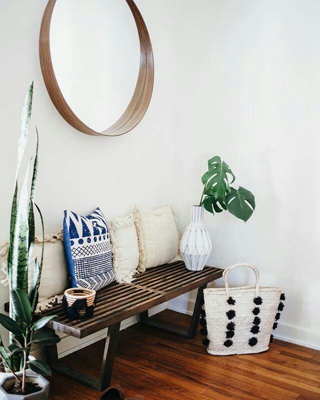 un petit banc dans l 39 entr e pour enfiler ses chaussures. Black Bedroom Furniture Sets. Home Design Ideas