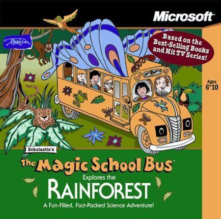 Jump on board the Magic School Bus for another one of Ms. Frizzle'sinteractive field trips--this time to explore the Costa Rican rain forest.You'll explore seven ecological zones in the rain forest as you collectsamples for the class science project. Watch videos, play games, check out multimedia reports, and hear fun facts about the rain forest.from $8.75 Your #1 Source for Software and Software Downloads  Ultimatesoftwaredownload.com