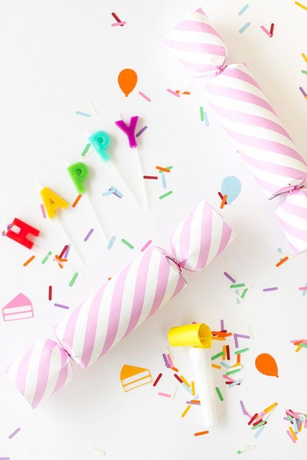 DIY Birthday Confetti Poppers