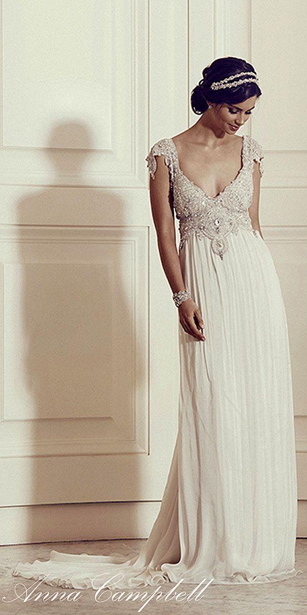 Anna Campbell Gossamer 2016 Bridal Collection ❤ See more: http://www.weddingforward.com/anna-campbell-gossamer-bridal-collection/ #weddings #dress