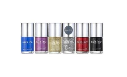 nails inc. presents QVC offerings