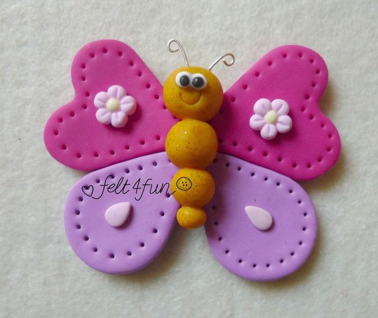 Bomboniere : bomboniera farfalla fimo