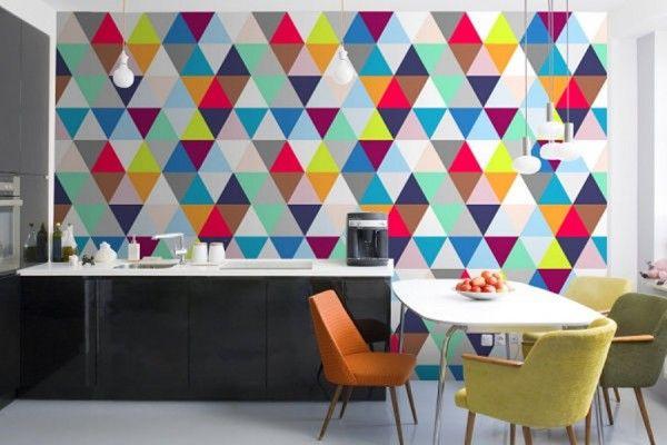 Kitchen wallpaper ideas: 18 Wallpaper designs for kitchen | http://www.littlepieceofme.com/kitchen/kitchen-wallpaper-ideas-18-wallpaper-designs-for-kitchen/