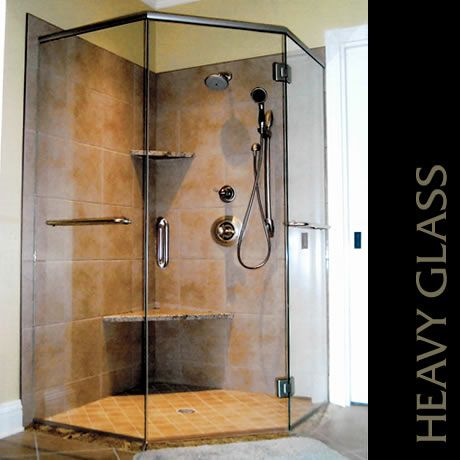 22 best Frameless shower glass with top header system images on ...