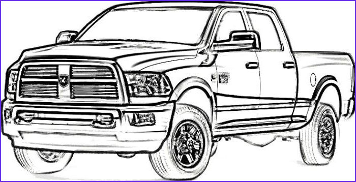 Dodge Ram Coloring Pages Dodge Ram Truck Coloring Pages Coloring