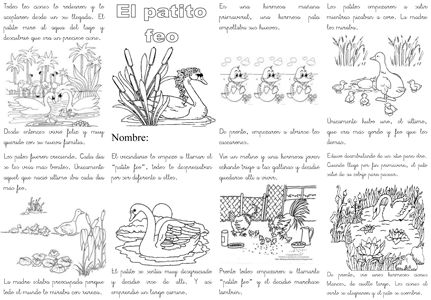 El patito feo. #cuentos #learnspanish #kids