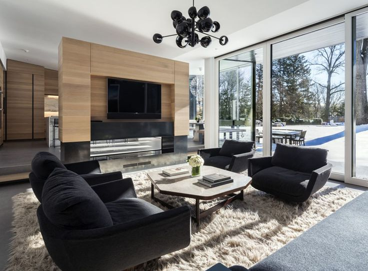 Modern Tudor By Monica Fried Design | Photo By Esto Photographers. Living  Room ...