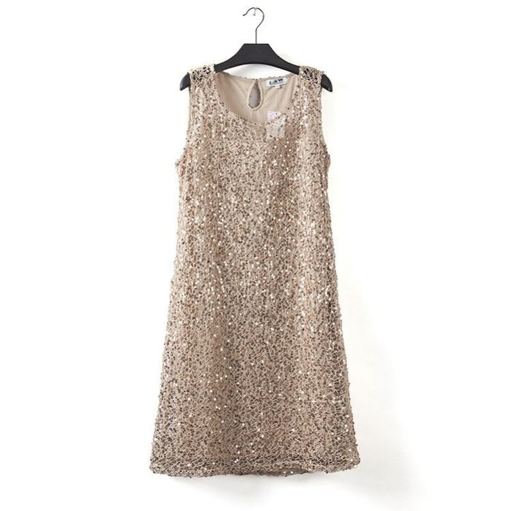 Sleeveless Stretchable Sequin Party Dress //Price: $32.98 & FREE Shipping //     #sale