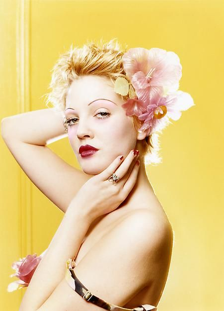 LaChapelle Studio - Portraits - Drew Barrymore