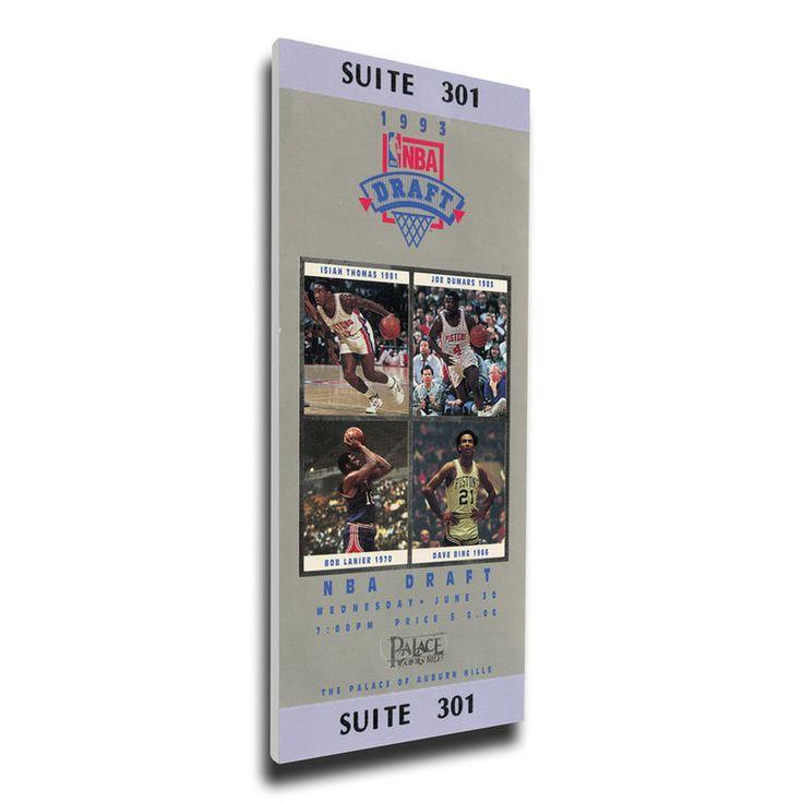 1993 NBA Draft Mega Ticket