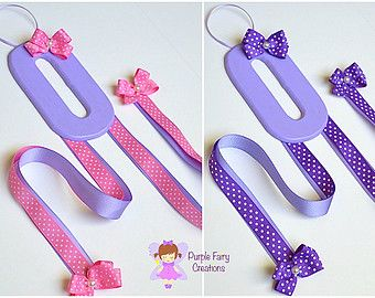 Inicial letra organizador de accesorios de por PurpleFairyCreations