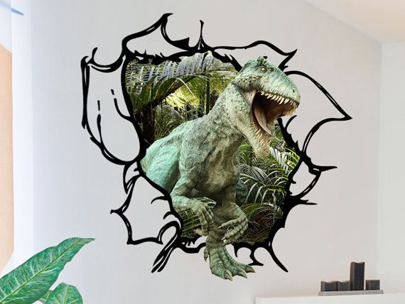 3d Dinosaur Wall Art best 25+ 3d wall decals ideas on pinterest | black tape project