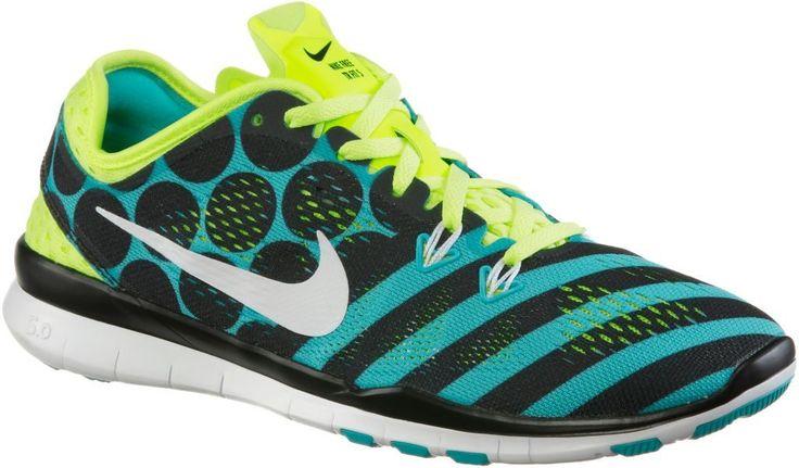 #Nike #Free #5.0 #Train #Fit #5 #Print #Fitnessschuhe #Damen #türkis/schwarz/neongelb