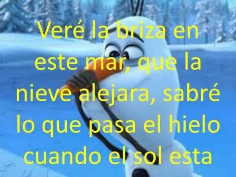 ▶ frozen una aventura congelada (letra de la canción verano) - YouTube