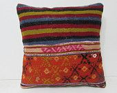 kilim pillow sets 18 moroccan floor cushion rustic pillow cover turkish pillow cover big cushion primitive country decor tapestry rug 28357