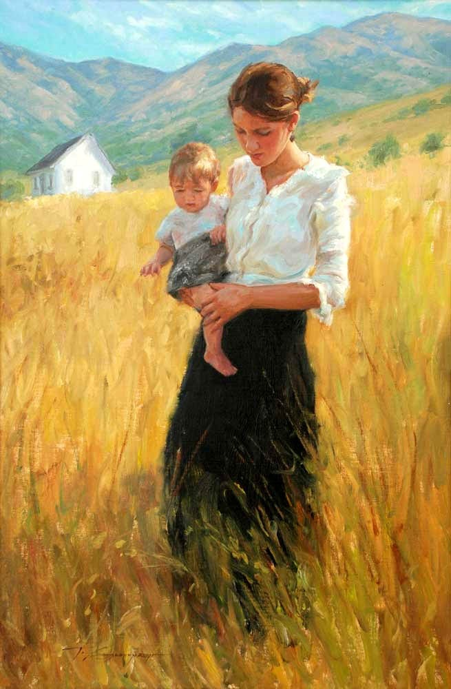 Summertime by Trent Gudmundsen My wish. This is so beautiful The mother I want to be.