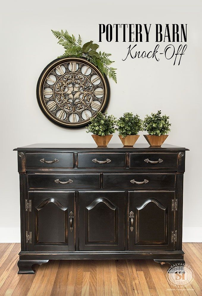 Distressed Black Furniture That Will Give You Inspiration