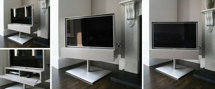 Merveilleux Rotating TV Cabinets And Bespoke TV Stands From Couture Furniture