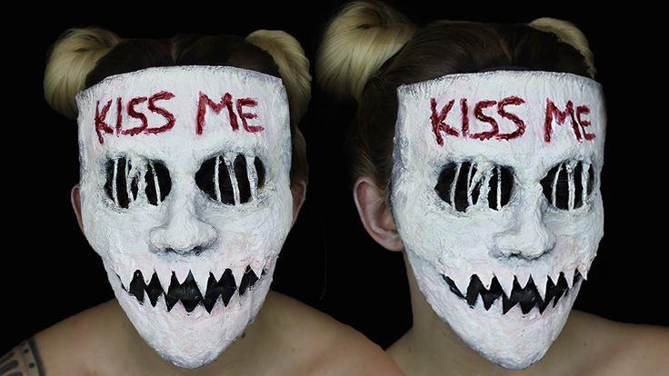 Kiss Me Purge Mask SFX Makeup Tutorial  |  THE PURGE MINI SERIES