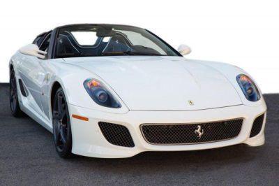2011 Ferrari 599 GTB Fioran0 F1A White http://www.iseecars.com/used-cars/used-ferrari-for-sale  Used Ferrari for Sale: 37 Cars at $59,000 and up | iSeeCars.com