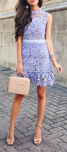 Tyra lilac purple lace dress goodnight macaroon perfect for night out! www.goodnightmacaroon.co