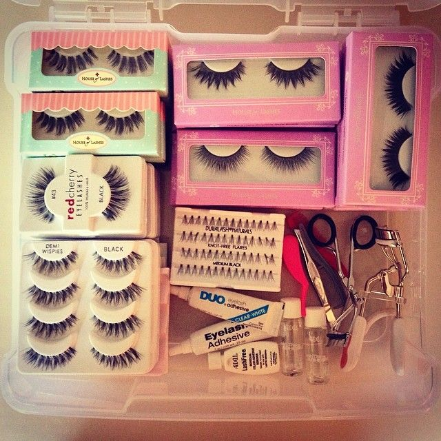 Bridal Lash Kit   House of Lashes   Ardell   Makeup Forever   Red Cherry Lashes   Duo  www.TeaseandMakeup.com