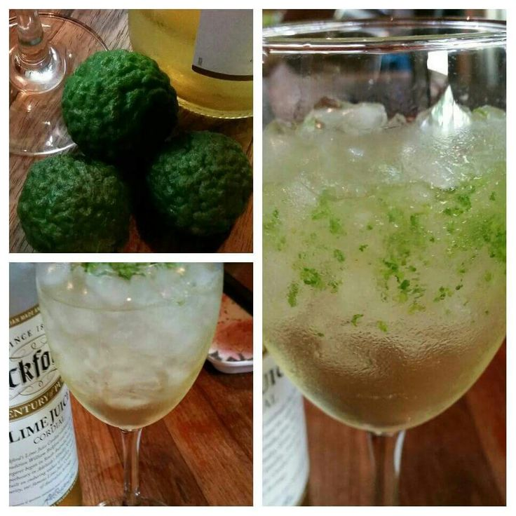 Zesty lime non alcoholic julep