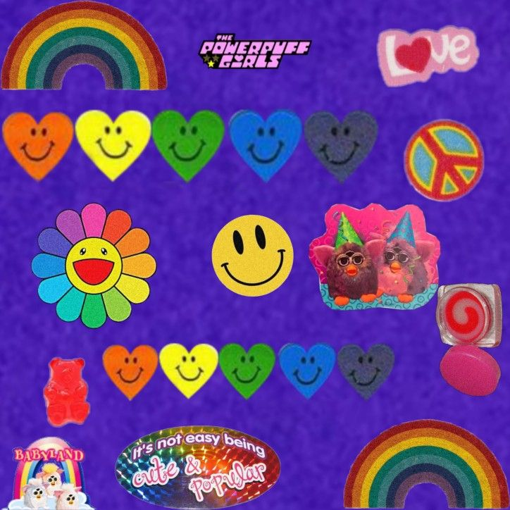 Indie 2000s Stickers In 2020 Kids Doodles Black Stickers Retro Poster
